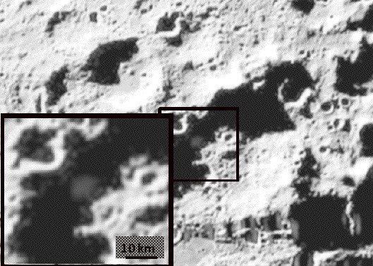 foto de la sonda Lcross antes de impactar