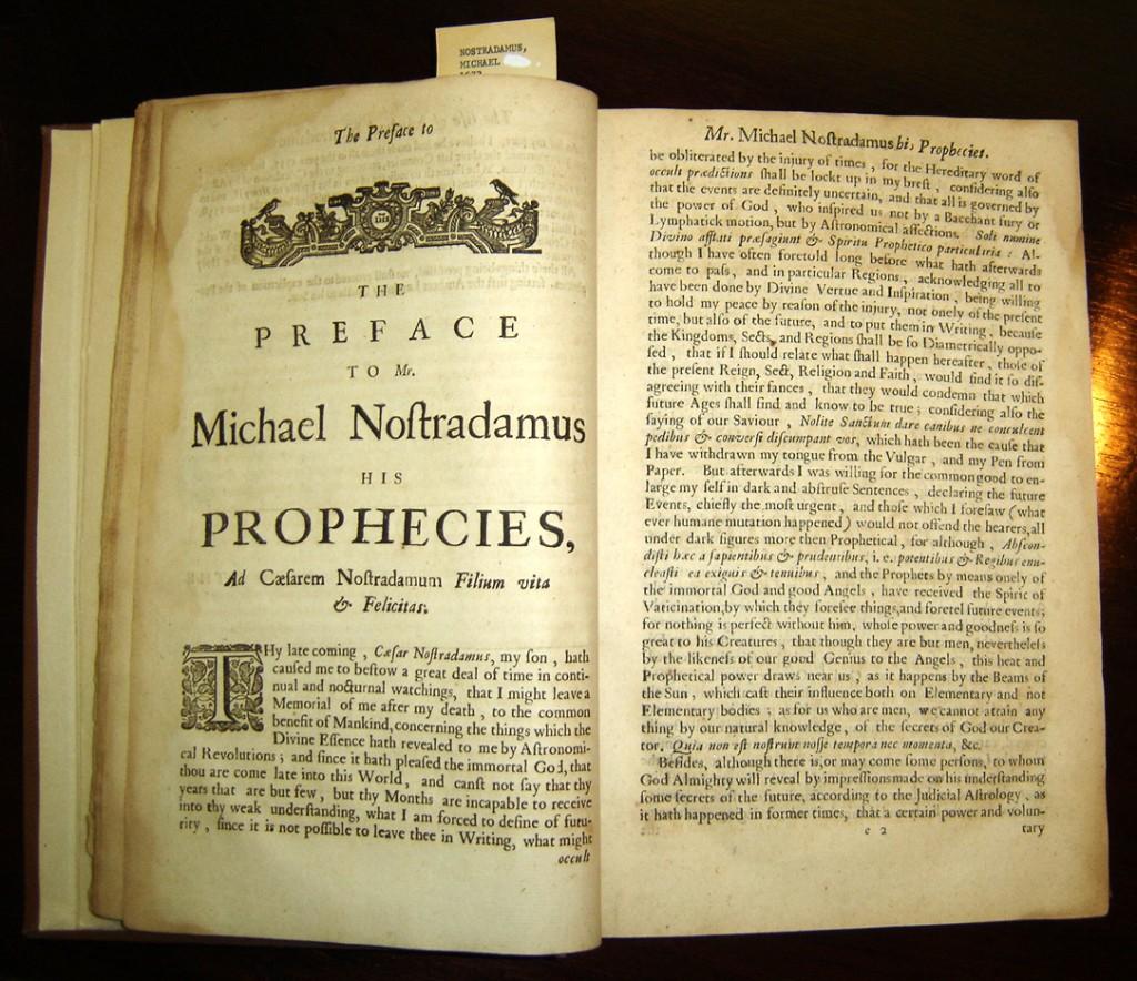 Nostradamus Prophecies 1024x884, Planeta Incógnito