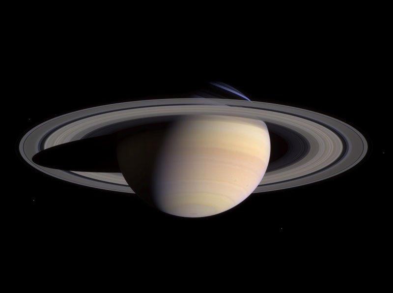 Saturn Cassini March 27 2004, Planeta Incógnito
