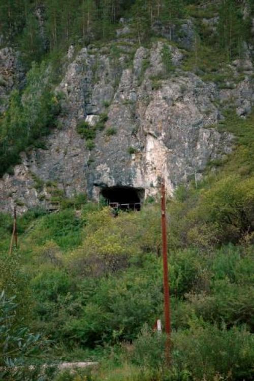 Cueva Denisova, Fotografía del Dr Bence Viola