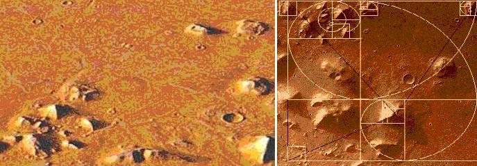 Pirámides Marte