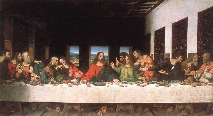 Ultima Cena Leonardo Da Vinci, Planeta Incógnito
