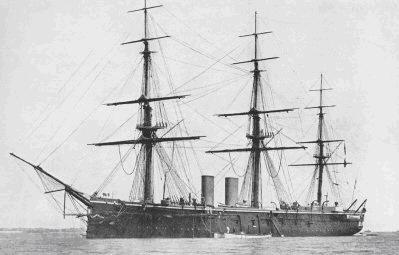 HMS Inconstant, Planeta Incógnito