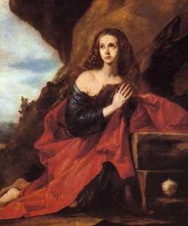 Magdalena penitente, de José de Ribera (Museo del Prado)