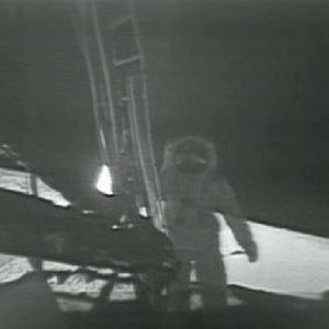 Se presentan nuevas imágenes de video, de la llegada del hombre a la Luna