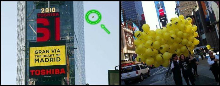 Los Ovnis salvan la campaña publicitaria de Gallardón en Nueva York (video al final) 3