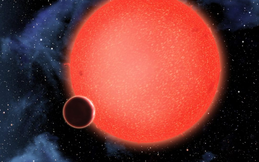 El telescopio Hubble descubre un nuevo tipo de exoplaneta, GJ 1214b el planeta acuático