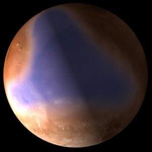 Los océanos marcianos según Mouginot