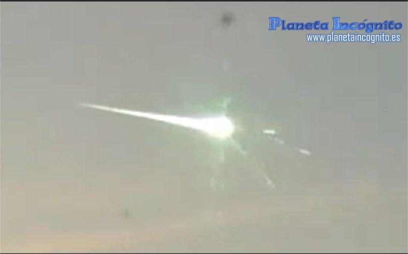 Analisis de la foto del supuesto ovni asteroide ruso que no era más que un reflejo en la lente de la cámara.