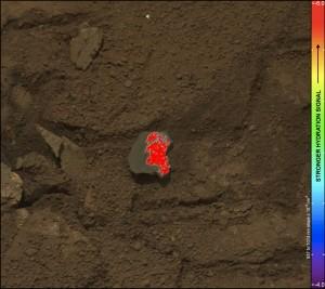 Análisis por infrarrojos de la Roca Titntina