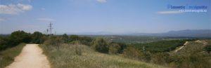 Cerro del Monte de El Pardo desde donde se divisa todo el Noroeste de la sierra madrileña