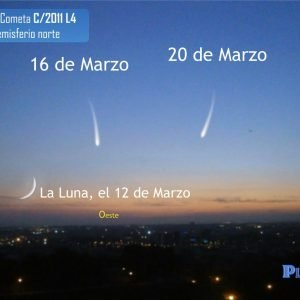 El cometa PanStarrs nos visitará y podrá ser divisado a simple vista a partir de mañana
