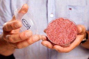 Primera hamburguesa sintética en crudo generada a partir de células madre
