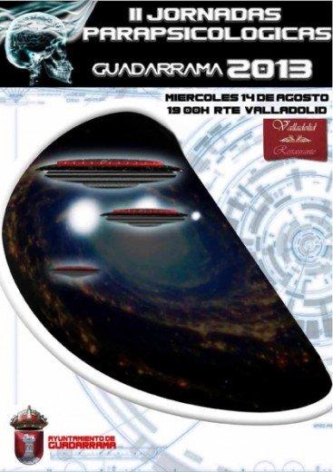 Cartel Jornadas Parapsicologia, Planeta Incógnito