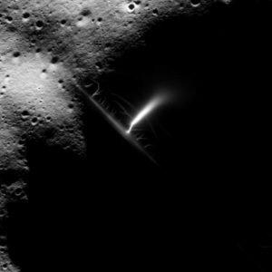 La falsa 'anomalía eléctrica gigante' de la Luna (Apolo 16)
