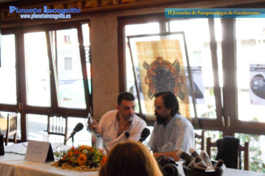 Juan Carlos Salamanca (izqda) y Santiago Vázquez Gomariz (dcha)