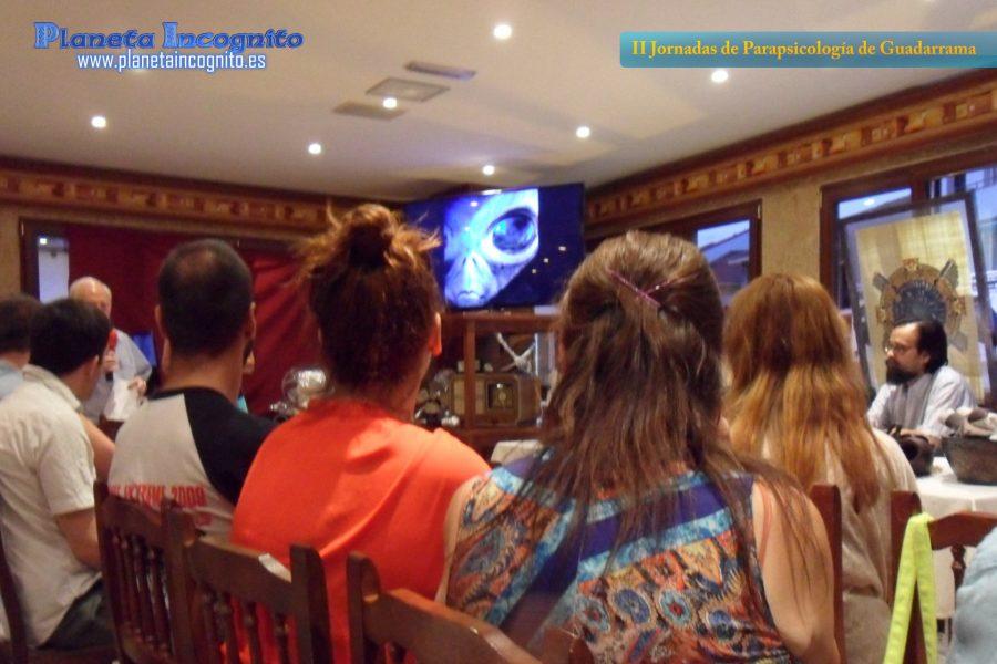 Jornadas de parapsicología en Guadarrama, 2013