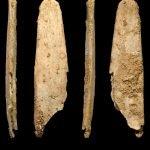 Cuatro vistas de la herramienta encontrada