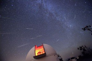 Perseidas en el Observatorio Steward, Mount Lemmon | D.A. Harvey (NASA)