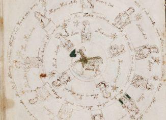 Voynich sección astronómica