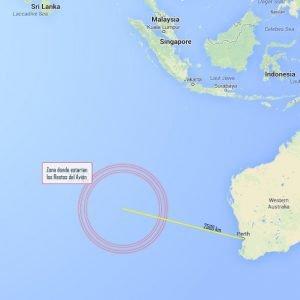 Encuentran posibles restos del avión desaparecido de Malaysia Airlines