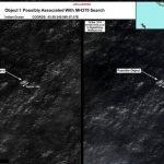 Fotografías de satélite de los Posibles Objetos del avión desaparecido