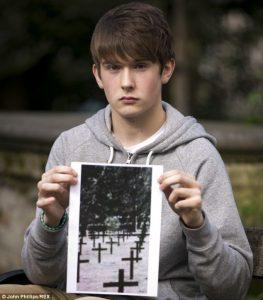 Mitch Glover, adolescente que realizó la fotografía