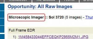 Captura de la web de la Nasa Haz Click para acceder a las fotos