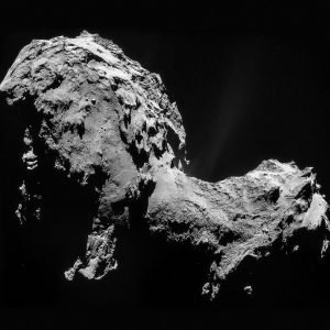 El Módulo Philae de la mission Rosetta en Peligro