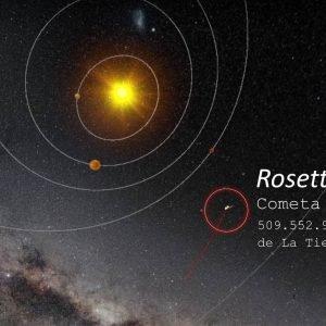 El módulo Philae se separa de Rosetta rumbo al Cometa 67p