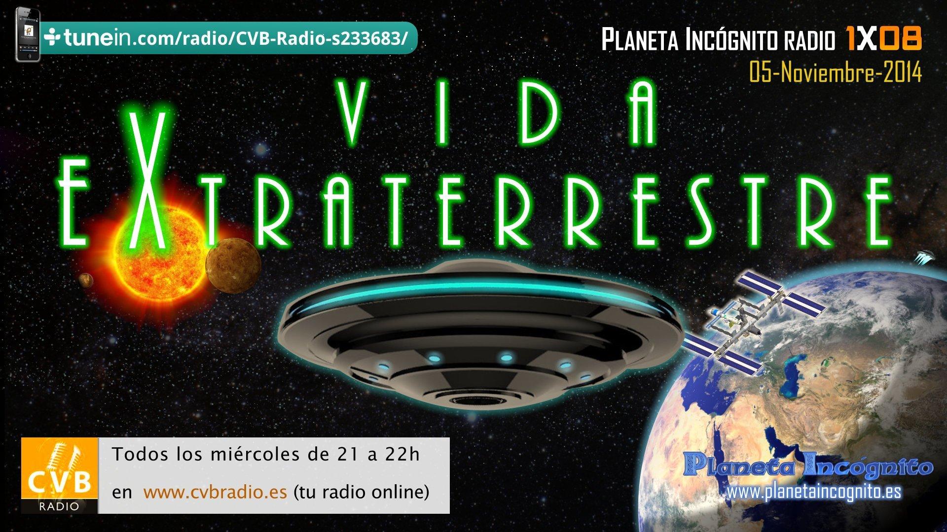 En nuestro próximo programa hablaremos sobre Vida Extraterrestre 4
