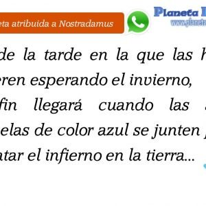 Nostradamus no predijo el doble check de Whatsapp
