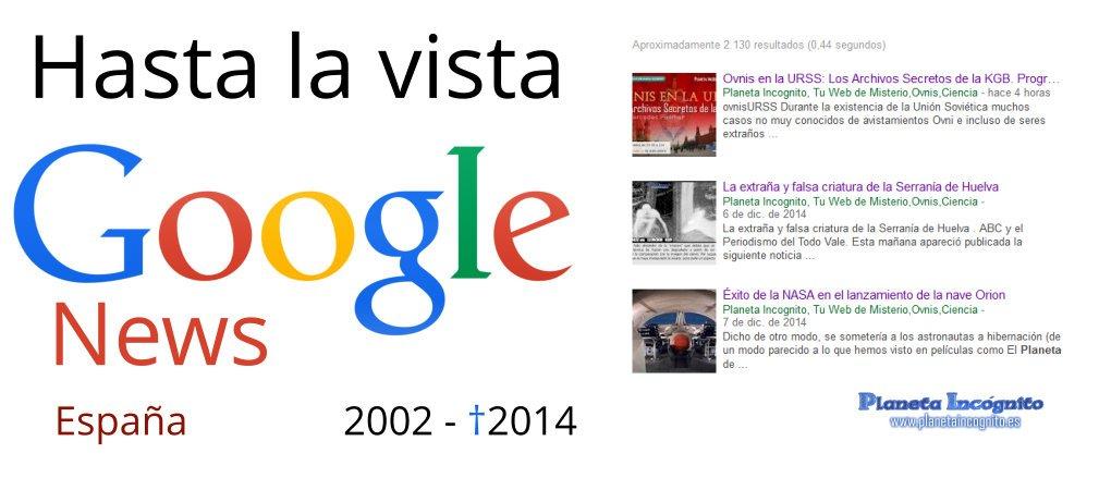 Hasta la Vista Google Noticias España (2002-2014)