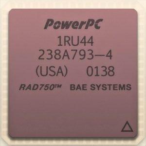 Procesador PowerPC RAD 750 con portección contra radiaciones