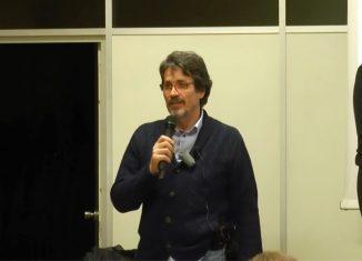 Jose Miguel Gaona durante la conferencia