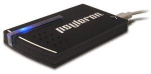 El módulo Psyleron fabricado por la compañía de mismo nombre Fundada en 2005 y afiliada al PEAR (Laboratorio de Investigación de Anomalias de la Universidad de Princeton)