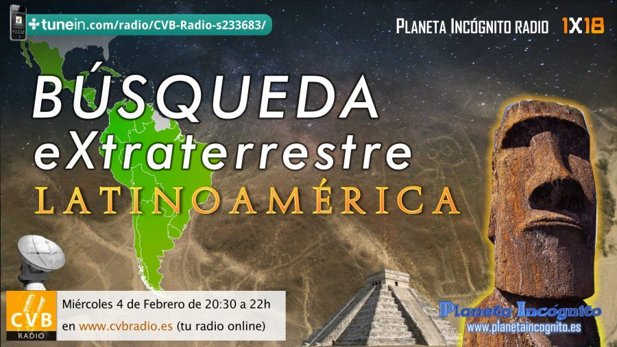 Programa 1×18 Conexión Extraterrestre. Latinoamérica