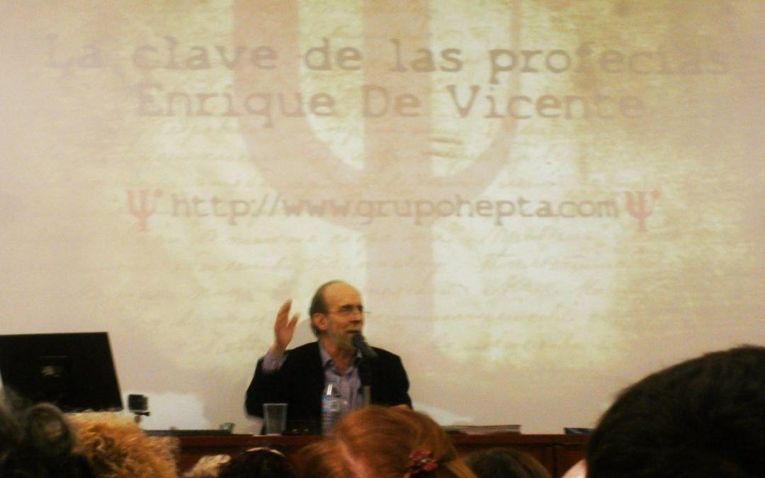 Conferencia de Enrique de Vicente: La clave de las profecias