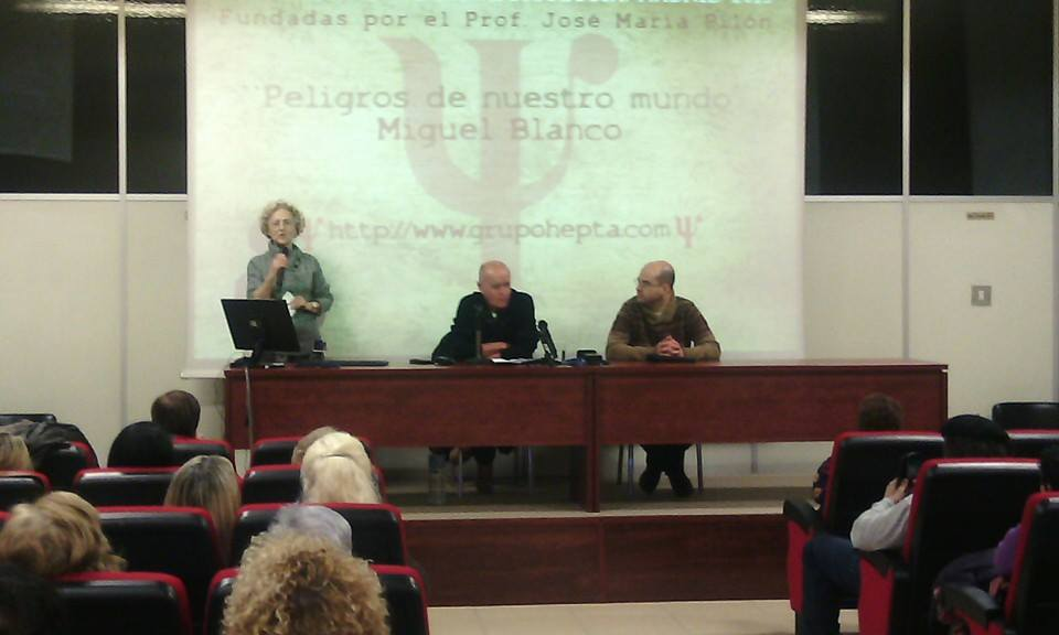 Conferencia Peligros de Nuestro Mundo de Miguel Blanco en las VII Jornadas de Parapsicología Hepta