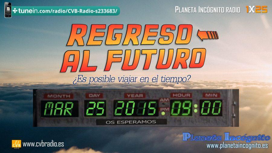 Programa 1×25 Regreso al Futuro ¿Son posibles los viajes en el tiempo?