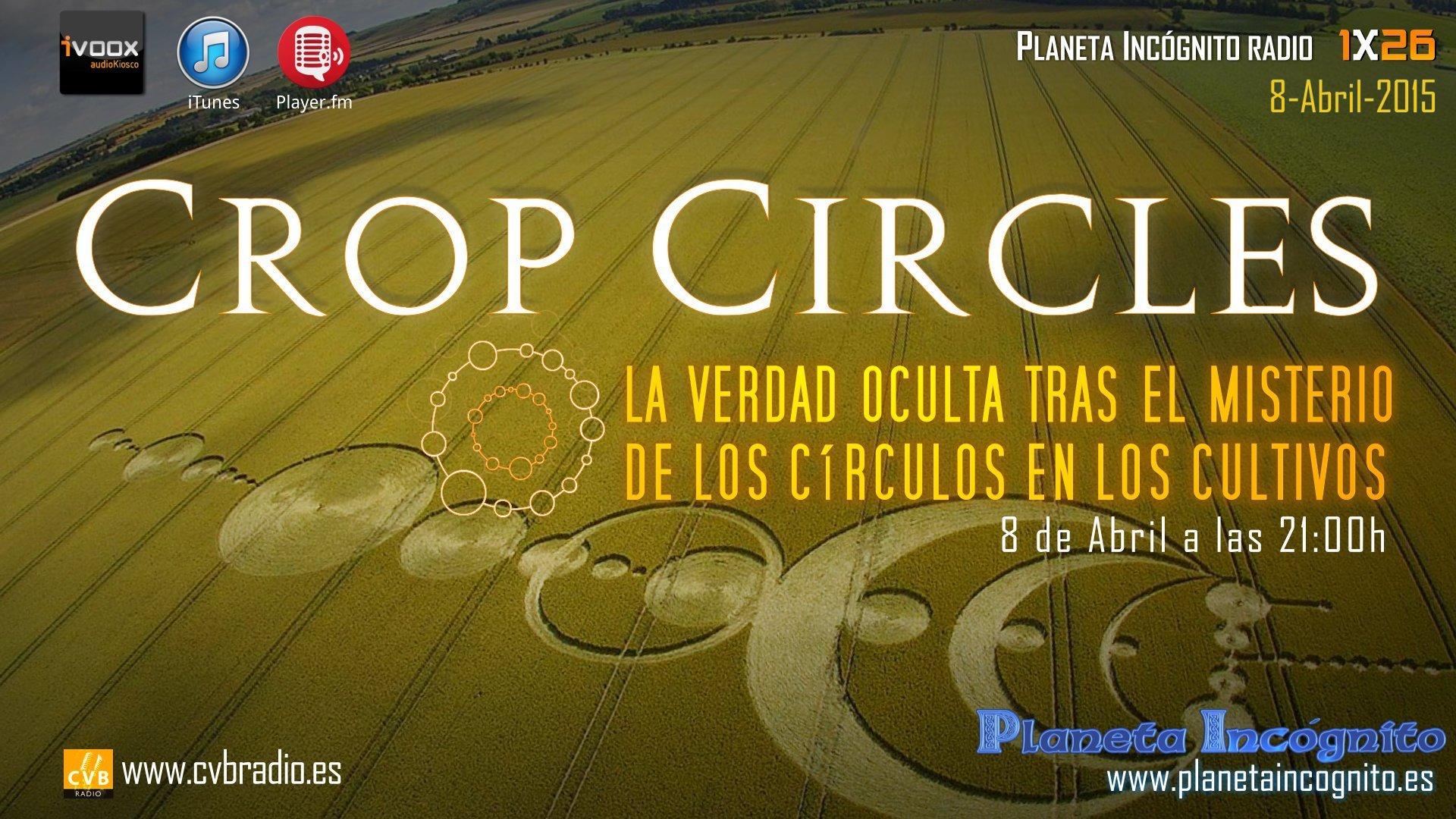 Programa 1x26 CROP CIRCLES : La Verdad Oculta sobre el Misterio de los Círculos en los Cultivos 8