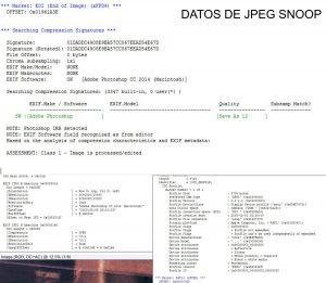 Datos Jpeg Snoop