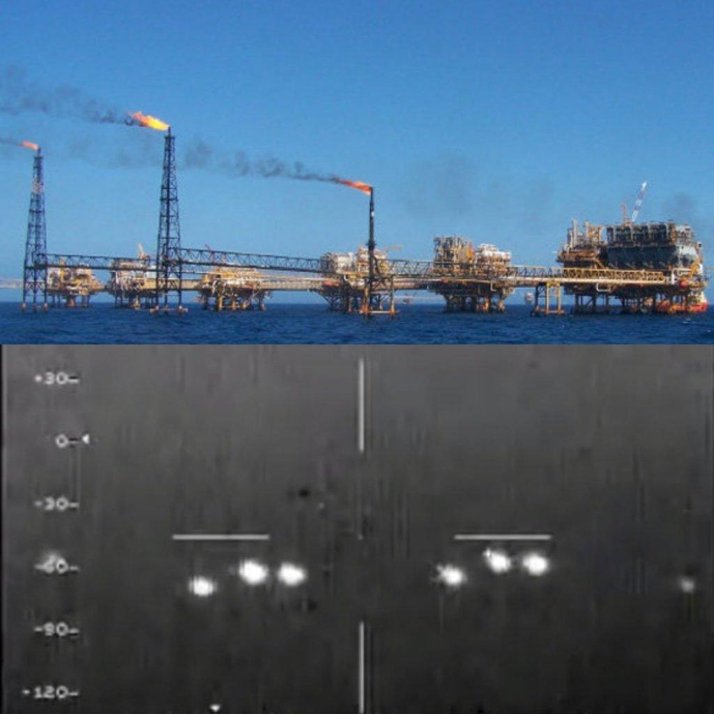 Los Ovnis de Campeche de 2004 obtenidos con cámara infrarroja, pero los vuelos también grababan en vídeo normal. Curiosamente sólo están los ovnis registrados en infrarrojo. ¿Por qué? Fácil, aludiendo a que no se veían en el espectro visible colaron el vídeo infrarrojo, pero en realidad los puntos de calor se trataban de las chimeneas de algunos de los numerosos pozos petrolíferos existentes en la costa de Campeche en pleno Golfo de México