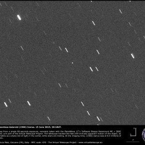 El peligroso Asteroide Ícaro 1566 (Retransmisión y puntualizaciones)