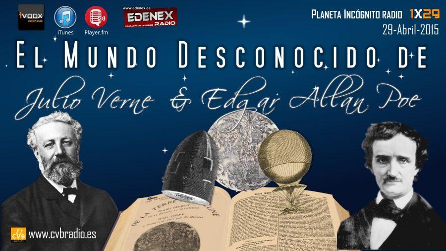 Programa 01×29  El Mundo Desconocido de Edgar Allan Poe y Julio Verne