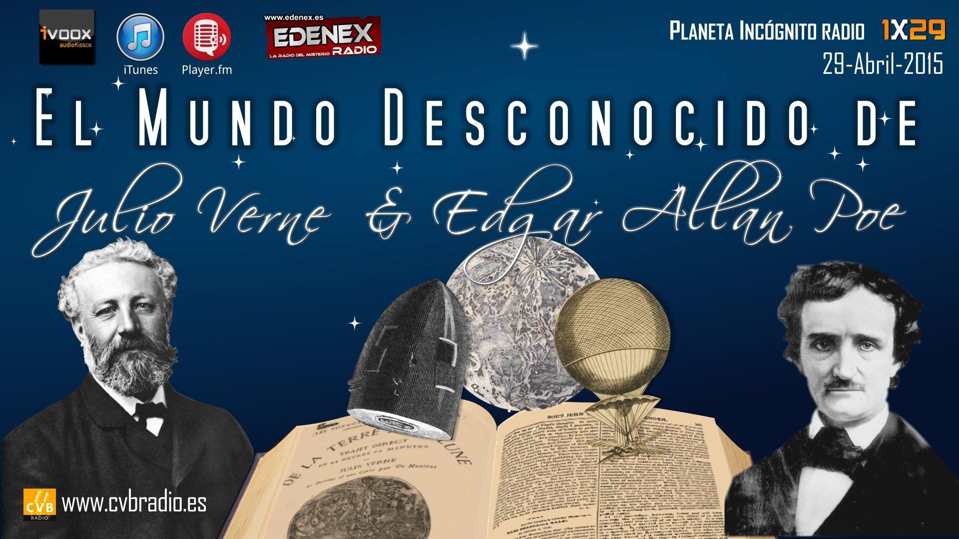 Programa 01x29  El Mundo Desconocido de Edgar Allan Poe y Julio Verne 2