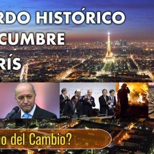 CAMBIO CLIMATICO: Acuerdo Histórico en la Cumbre de París