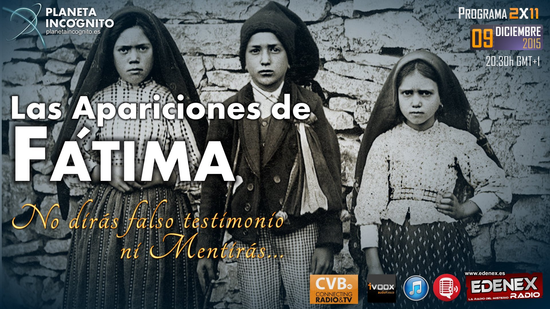 Conferencia: Las apariciones de Fátima casi cien años de Misterio 1