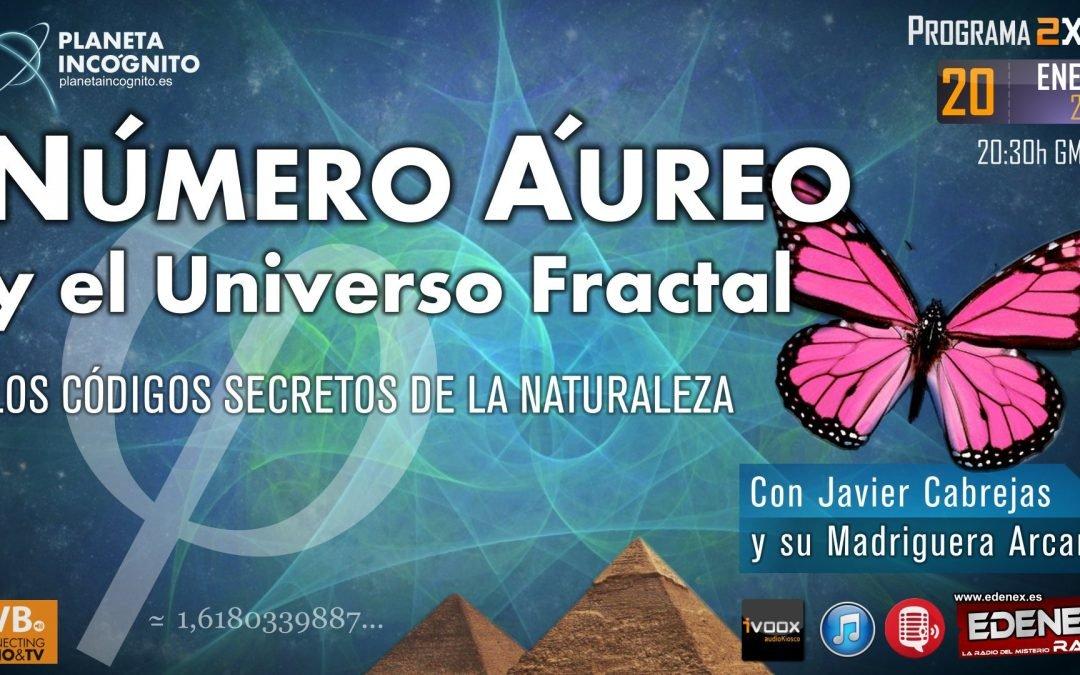 Programa 2×15: NÚMERO ÁUREO y el Universo Fractal: Los Códigos Secretos de la Naturaleza