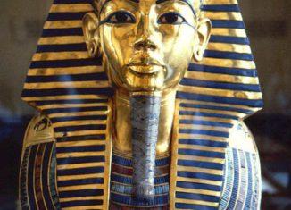 Mascara Funeraria del Faraón Tutankamón